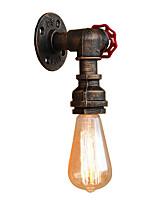 Недорогие -Мини / труба Простой / Ретро Настенные светильники Гостиная / Коридор Металл настенный светильник 110-120Вольт / 220-240Вольт 60 W