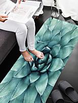 Недорогие -1шт Деревенский Коврики для ванны Коралловый Цветочный принт Ванная комната Противоскользящий / Легко очистить