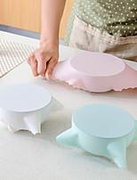 Недорогие -Силиконовые Продовольственные обложки Мягкость Heatproof Anti-Пролитая Кухонная утварь Инструменты 1шт