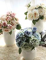"""Недорогие -Свадебные цветы Искусственные цветы Свадьба / Для праздника / вечеринки ПВХ (поливинилхлорида) / Ткань 11,8""""(около 30см)"""