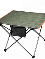 Недорогие -Туристический стол На открытом воздухе Легкость Складной Оксфорд для 4.0 Походы - Военно-зеленный