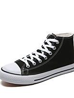 Недорогие -Муж. Комфортная обувь Полотно Осень Кеды Черный / Красный / Синий