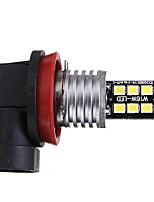 Недорогие -1pcs H8 Автомобиль Лампы 6 W SMD 2835 100 lm 15 Светодиодная лампа Противотуманные фары / Фары дневного света / Боковые габаритные огни Назначение Универсальный / Volkswagen / Toyota Все года