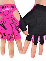 Недорогие -BOODUN Тренировочные перчатки Non Toxic Прочный Полная защита кистей и надёжный захват Дышащий Йога Аэробика и фитнес Тренировка в тренажерном зале Для Мужчины Женский палец