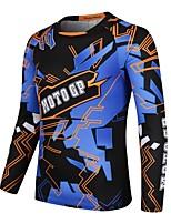 Недорогие -TT-19 Одежда для мотоциклов Короткие рукава для Муж. Весна & осень Эластичный / Дышащий / Быстровысыхающий