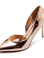 Недорогие -Жен. Искусственная кожа Весна & осень Обувь на каблуках Для прогулок На шпильке Заостренный носок Розовый / Светло-синий / Светло-коричневый
