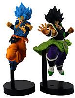 Недорогие -Аниме Фигурки Вдохновлен Жемчуг дракона Son Goku Косплей ПВХ 23 cm См Модель игрушки игрушки куклы