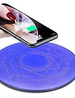 Недорогие -Волшебный массив 10 Вт светодиодное беспроводное зарядное устройство быстрая зарядка коврик для iphone x xs samsung s9 s10 huawei p20 mate 20 зарядное устройство 1 шт.