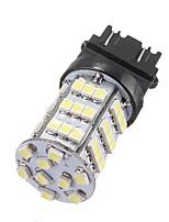 Недорогие -1pcs 3157 Автомобиль Лампы 2.5 W SMD 3528 300~350 lm 54 Светодиодная лампа Фары дневного света / Лампа поворотного сигнала / Задний свет Назначение Универсальный / Volkswagen / Toyota Все года