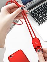 Недорогие -Type-C Адаптер USB-кабеля Плетение Кабель Назначение Samsung / Huawei / Xiaomi 75 cm Назначение TPE / ABS + PC