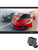 Недорогие -SWM 7018B+4LED camera 7 дюймовый 2 Din Другие ОС Автомобильный MP5-плеер Сенсорный экран / MP3 / Встроенный Bluetooth для Универсальный RCA / MicroUSB / Другое Поддержка MPEG / MPG / WMV MP3 / WMA