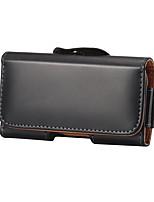 Недорогие -4/5/6 дюймов кожаный чехол для универсального держателя карты талии сумка / талия сплошной цвет мягкий подлинный