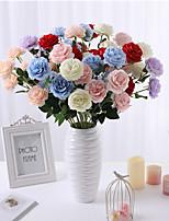 Недорогие -Искусственные Цветы 5 Филиал Классический европейский Простой стиль Пионы Букеты на стол