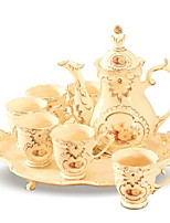 Недорогие -Керамика Креатив Чайный 8шт чайник Чашка