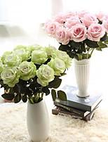 """Недорогие -Свадебные цветы Искусственные цветы Свадьба / Для праздника / вечеринки ПВХ (поливинилхлорида) / Ткань 19,7""""(около 50см)"""