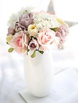 Недорогие -Искусственные Цветы 1 Филиал Классический Свадебные цветы Modern Розы Гортензии Букеты на стол