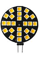 Недорогие -1шт 3.5 W 200 lm G4 Двухштырьковые LED лампы 24 Светодиодные бусины SMD 5050 10-30 V