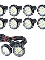 Недорогие -10 шт. Проводное подключение Мотоцикл / Автомобиль Лампы 5 W SMD 4014 250 lm 12 Светодиодная лампа Противотуманные фары / Фары дневного света / Подсветка для номерного знака Назначение Универсальный