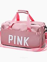 Недорогие -Нейлон / синтетика Сплошной цвет / Буквы Дорожная сумка Молнии Сплошной цвет Черный / Розовый