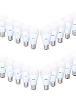 Недорогие -EXUP® 24pcs 9 W 850 lm B22 / E26 / E27 Круглые LED лампы A19 26 Светодиодные бусины SMD 2835 Творчество / Декоративная / Праздник Тёплый белый / Холодный белый 220-240 V / 110-130 V