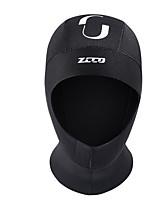 Недорогие -ZCCO Шапочки для купания неопрен Сохраняет тепло Быстровысыхающий Ныряние / гребля Водные виды спорта Вейкскейтинг для Взрослые