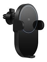 Недорогие -Оригинал xiaomi автомобильное крепление подставка для выхода воздуха решетка радиатора / приборная панель автоматический держатель 20w qi беспроводное быстрое зарядное устройство для xiaomi mi 9 iphon