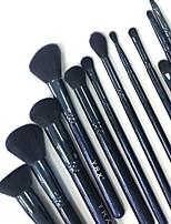 Недорогие -12шт Кисти для макияжа профессиональный Инструменты для макияжа Косметическая кисточка Мягкость / синтетический Деревянные / бамбуковые