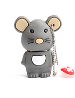 cheap -128GB PVC Zodiac rat USB Flash Drives USB 2.0 Creative For Car
