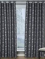Недорогие -европейский Солнцезащитные 1 панель Занавес Гостиная   Curtains