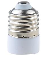 Недорогие -1шт 4.3 cm E26 / E27 для MR16 MR16 Аксессуары для ламп / Конвертер Керамика / пластик Разъем для лампочки