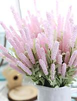 Недорогие -Искусственные Цветы 5 Филиал Классический Традиционный / классический европейский Светло-голубой Вечные цветы Букеты на стол