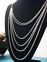 Недорогие -Жен. Симпатичные Стиль ожерелья Однотонный