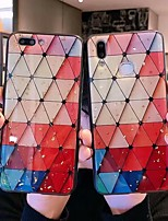 Недорогие -Кейс для Назначение Apple iPhone XS Max / iPhone 6 С узором Кейс на заднюю панель Геометрический рисунок Мягкий ТПУ для iPhone XS / iPhone XR / iPhone XS Max