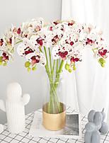 Недорогие -Искусственные Цветы 2 Филиал Классический Традиционный / классический Простой стиль Фиолетовый Вечные цветы Букеты на стол