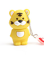 cheap -128GB PVC Zodiac Tiger USB Flash Drives USB 2.0 Creative For Car