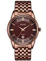 Недорогие -Муж. Нарядные часы Кварцевый Черный / Серебристый металл / Золотистый Защита от влаги Аналого-цифровые На каждый день Мода - Серебряный Кофейный Золотистый