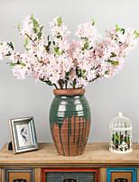 Недорогие -Искусственные Цветы 1 Филиал Классический Традиционный / классический Простой стиль Сирень Вечные цветы Букеты на стол