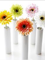 Недорогие -Искусственные Цветы 10 Филиал Классический Традиционный / классический Простой стиль Хризантема Вечные цветы Букеты на стол