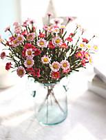 Недорогие -Искусственные Цветы 5 Филиал Классический Традиционный / классический Простой стиль Ромашки Вечные цветы Букеты на стол