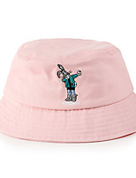 Недорогие -Универсальные Симпатичные Стиль Широкополая шляпа / Бейсболка Цветочный принт