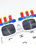 cheap -Birthday Party Accessories Prop Glasses Trim PC Creative