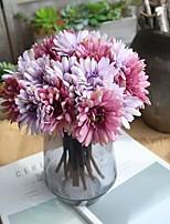 Недорогие -Искусственные Цветы 1 Филиал Классический Современный современный Свадебные цветы Хризантема Вечные цветы Букеты на стол