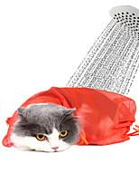 Недорогие -Собаки / Коты Чистка Ванночки Компактность / Дышащий Красный