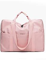 Недорогие -Нейлон / синтетика Сплошной цвет Дорожная сумка Молнии Сплошной цвет Черный / Серый / Розовый