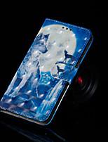 Недорогие -Кейс для Назначение SSamsung Galaxy Galaxy S10 / Galaxy S10 Plus со стендом / Флип / С узором Чехол Животное Твердый Кожа PU для S9 / S9 Plus / S8 Plus