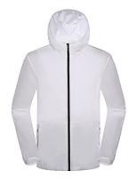 Недорогие -DZRZVD® Муж. Куртка для туризма и прогулок на открытом воздухе Быстровысыхающий Пригодно для носки Верхняя часть Односторонняя На открытом воздухе Зимние виды спорта