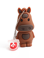 cheap -64GB PVC Zodiac horse USB Flash Drives USB 2.0 Creative For Car
