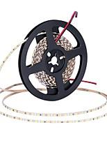 Недорогие -ZDM® 5 метров Гибкие светодиодные ленты 600 светодиоды 2835 SMD Тёплый белый / Холодный белый Можно резать / Подсветка для авто / Самоклеющиеся 12 V 1шт