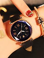 Недорогие -Жен. Наручные часы Кварцевый Кожа Красный / Коричневый / Серый Защита от влаги Новый дизайн Аналоговый Мода Цветной - Красный Зеленый Розовый