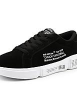 Недорогие -Муж. Комфортная обувь Полиуретан Весна На каждый день Кеды Нескользкий Черный / Серый / Красный